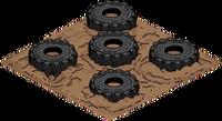 Obstacle Tires Menu