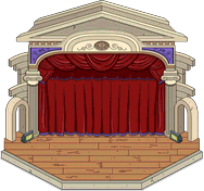 Outdoor Opera Stage Icon