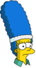 Tennis Marge Sad Icon