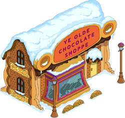Chocolate Shoppe Snow Menu