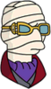 Dr. Griffin (Invisible Man) Annoyed Icon