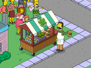 Ted Flanders Selling Herbal Spinach