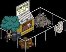 Uriah's Heap Recycling Center Menu