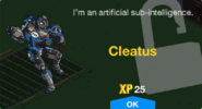 Cleatus Unlock Screen