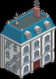Retro Style Townhouse Menu