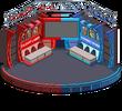 Conflict of Enemies Indoor Stage Menu