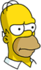 Homer Annoyed Icon