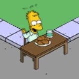 Abraham Simpson I Eating Fresh Donuts (1)