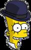 Clockwork Bart Happy Icon