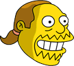 Comic Book Guy Happy Icon