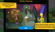 Cthulhu's Revenge 2019 Event End Screen