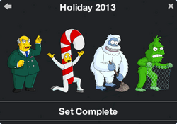 Holiday 2013 Character Collection