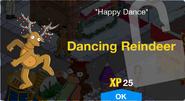 Dancing Reindeer Unlock Screen