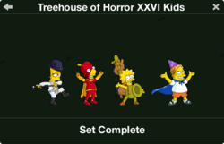 Treehouse of Horror XXVI Kids Character Collection
