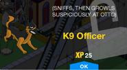 K9 Officer Unlock Screen