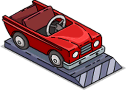 Lisa's Kiddie Car Icon