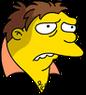 Barney Sad Icon