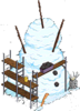 Best Snowman Ever Scaffoded Snow Level 3 Upgrade