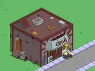 Nedward Flanders Sr. Busting Up His Bongos at CBGB