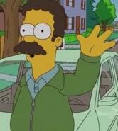 Ted Flanders in the show