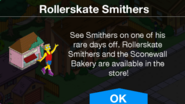 Rollerskate Smithers Notification