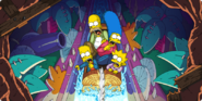 Itchy & Scratchy Land Store Banner