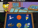 Springfield Games Pins