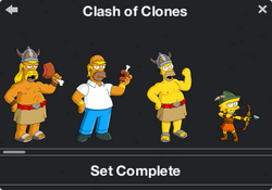 Clash of Clones Character Collection 1