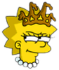 Little Miss Springfield Lisa Wicked Icon