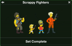Scrappy Fighters Character Collection