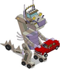 Truckasaurus Menu