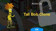 Tall Bob Clone Unlock Screen