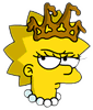 Little Miss Springfield Lisa Annoyed Icon