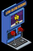 Low Blow Boxing Menu