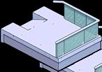 Modern Lower Balcony Menu