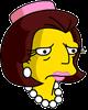 Mrs. Quimby Sad Icon