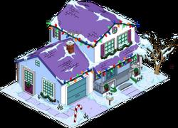 Christmas Skinner House Snow Menu