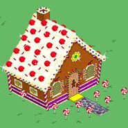 Gingerbread House animation