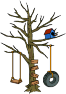 Halloween Tree Swing
