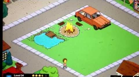 The Simpsons Tapped Out Level 34 Update