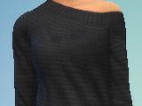 YfTop SweaterOffShoulder