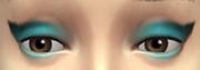 YfMakeupEyeshadow Cat Turquoise