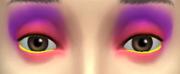YfMakeupEyeshadow ThreeToneWild PinkPurple