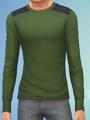 YmTop SweaterCrewBasic GreenArmy.png