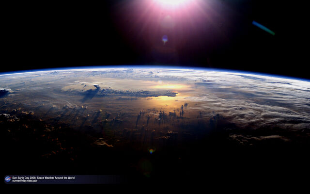 File:Earth from space.jpg