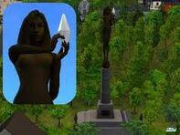 Estatua Elvira