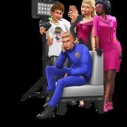 The Sims 4 Moschino Stuff Render 01