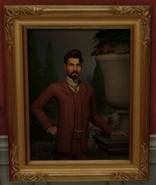 Portrait of Lord Bernard Escargot Shallot