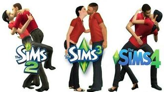 ♦ Sims 2 vs Sims 3 vs Sims 4 Kisses & Interactions