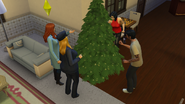 16. Everyone Decorates the Tree